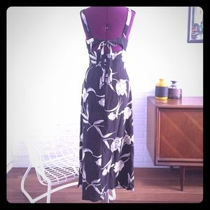 90s Maxi Dress Tank Dress Cut Out Back Wanted S 5